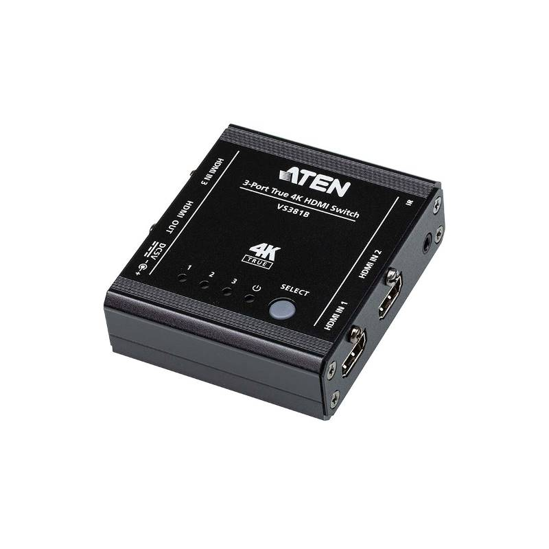 Aten VS381B 3-poorts True 4K HDMI-schakelaar