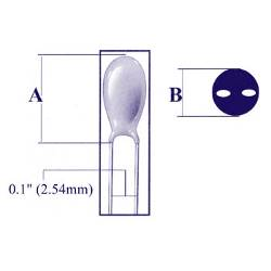 Velleman Tantaalcondensator 33µf / 10v (2)