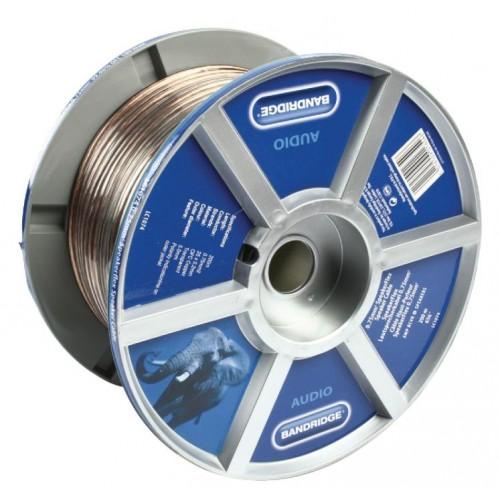 Bandridge LC1074 SpeakerFlex Luidsprekerkabel van 0,75 mm² 200.0 m
