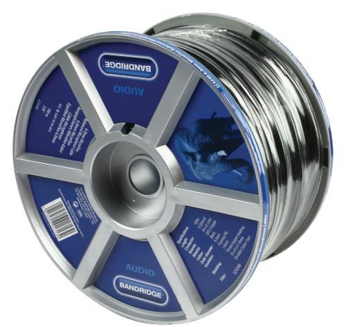 Bandridge LC4240 6,3mm Stereo MicroFlex Microfoon Kabel 100.0 m