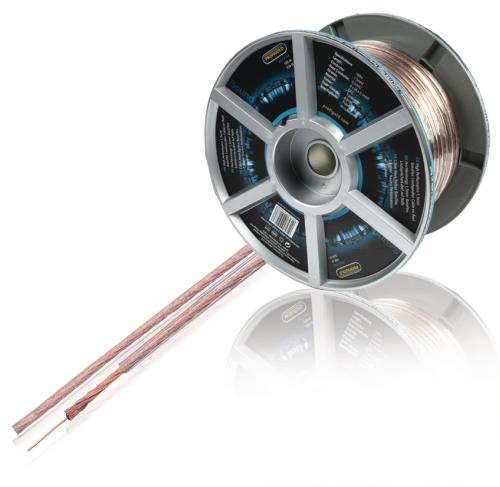Profigold PGC7154 Luidsprekerkabel op rol 2x 1,5 mm² 100,0 m transparant