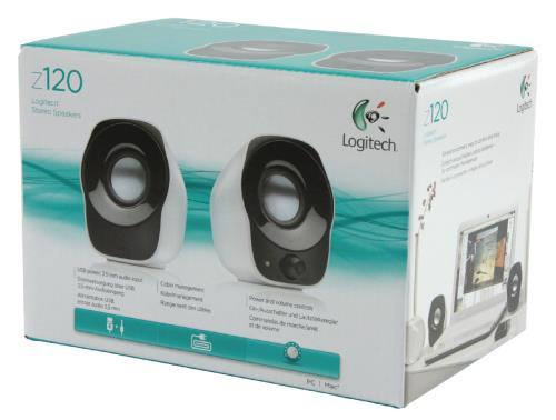 Logitech 980-000513 Z120 stereo luidsprekers 1,2 W