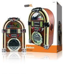 basicXL BXL-JB10 Retro jukebox met AM / FM radio en CD-speler