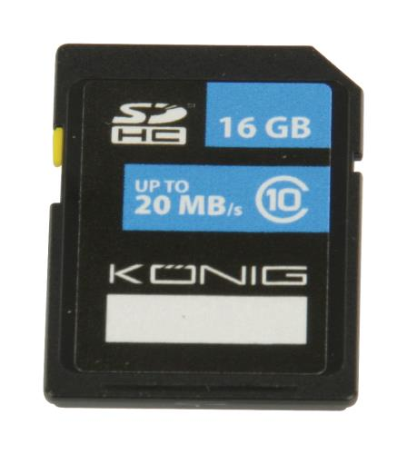 CSSDHC16GB SDHC geheugenkaart Class 10 16 GB