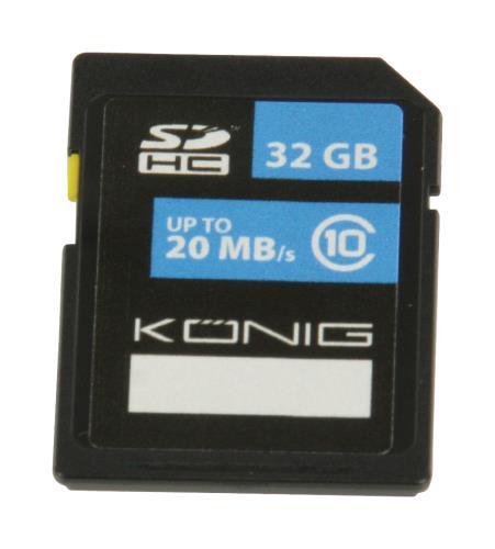 CSSDHC32GB SDHC geheugenkaart Class 10 32 GB