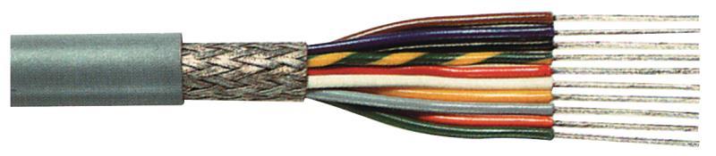 Tasker C10015 Afgeschermde datakabel 10 x 0,15 mm² op rol 100 m grijs