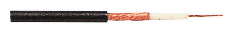 Tasker C123 Microfoonkabel 1 x 0,25 mm² op rol van 100 m zwart
