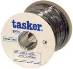 Tasker C606 BLACK Telefoonkabel 6 aders op rol van 100 m zwart