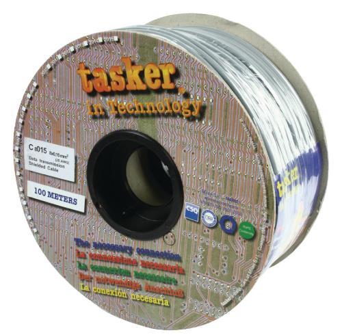 Tasker C8015 Datakabel 8 x 0,15 mm² op rol van 100 m