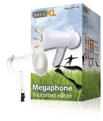 basicXL BXL-MP100 Megafoon supporters-editie