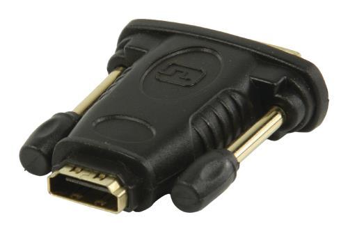 VGVP34912B DVI - HDMI-adapter DVI mannelijk - HDMI input zwart