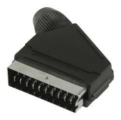 Valueline VLVP31990B SCART connector SCART mannelijk zwart