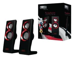 Sweex SP201 Sweex 2.0 speakerset Purephonic 20 W rood