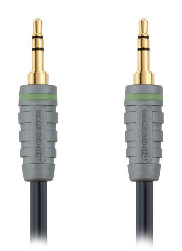Bandridge BAL3300 Audiokabel voor draagbaar apparaat 0.5 m