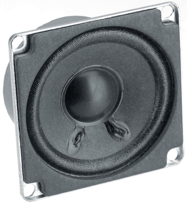 "Visaton 2209 Full-range luidspreker 5 cm (2"") 4 Ohm"