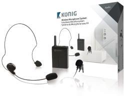 König KN-MICW631 Draadloos microfoonsysteem met bodypack
