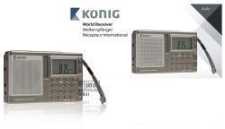 König HAV-PR31 FM-wereldontvanger