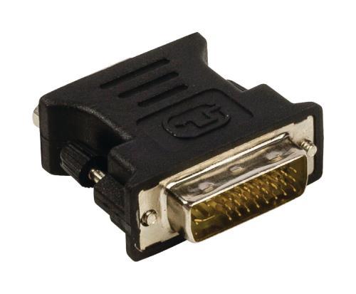 VLCP32900B DVI - VGA adapter DVI-I 245-pin male - VGA female zwart