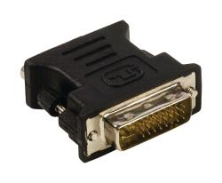 Valueline VLCP32900B DVI - VGA adapter DVI-I 24+5-pin male - VGA female zwart