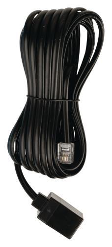 VLTP90205B50 Telecom verlengkabel RJ11 mannelijk - RJ11 vrouwelijk 5,00 m zwart