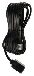 Valueline VLTP90205B50 Telecom verlengkabel RJ11 mannelijk - RJ11 vrouwelijk 5,00 m zwart