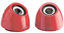 Sweex SW20SPS100RD 2.0 speakerset USB voeding 2x 3 W draagbaar rood
