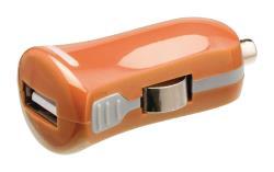 Valueline VLMP11950O USB-autolader USB A female - 12V-autoaansluiting oranje