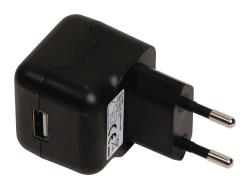 Valueline VLMP11955B USB AC-lader USB A female - AC-huisaansluiting zwart