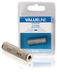Valueline VLAB22950M Audiokoppelstuk 3,5 mm female - female metaal