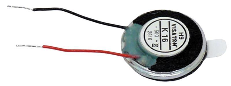 "Visaton K 16, 8 OHM Small speaker 1.6 cm (0.63"") 8 ? 1 W"
