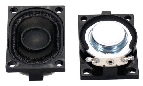"Visaton K 28.40,  8 OHM Small loudspeaker 2.8 x 4 cm (1.1"" x 1.6"") 8 ? 3 W"