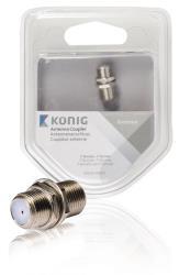 König KNS41940M Antenne koppelstuk F female - female 1 stuk metaal