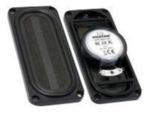 "Visaton SC 4.9 FL,  8 OHM Full-range speaker 4 x 9 cm (16"" x 3.5"") 8 ? 5 W"