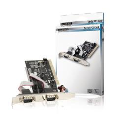 König CMP-PCISER10 2-poorts serieel PCI kaart
