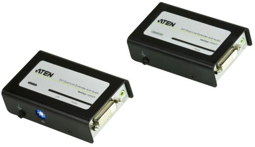 VE602-AT-G DVI Dual Link Extender with Audio 60 m