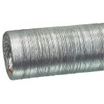 Fixapart W3-65080 Flexibele aluminium afvoerslang 127 mm 10,0 m