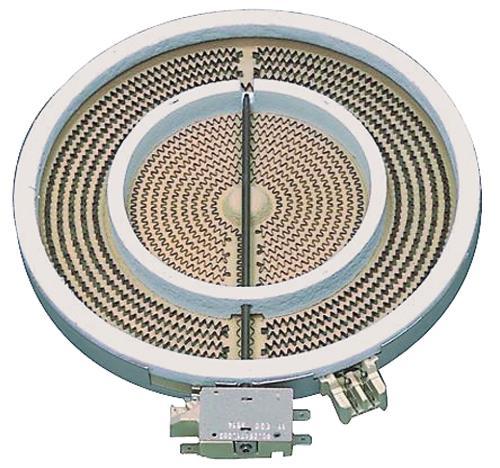 E.G.O. 1051211004 Dual circulatie hilight element 230 / 120 mm 10.51211.04