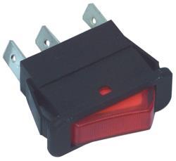 Fixapart W8-12104 Schakelaar aan / uit rood