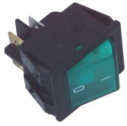 Fixapart W8-12109 Schakelaar aan / uit groen