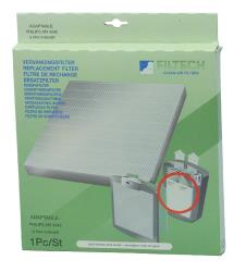 FILTECH W8-65100/A HEPA filter HR4340