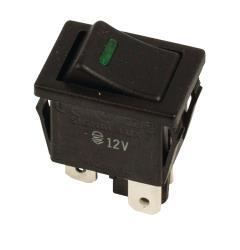 Everel 255038 1-POL Rocker Switch 12V On-Off