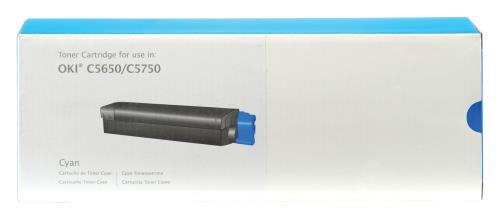Prime Printing Technologies 02-73-56513 C5650 cyan toner for 2K pages
