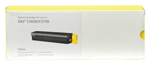 Prime Printing Technologies 02-73-56533 C5650 yellow toner for 2K pages