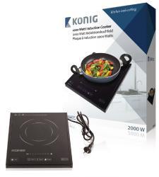 König HA-INDUC-12N Inductiekookplaat 2000 W