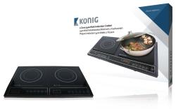 König HA-INDUC-21N 2-zone inductiekookplaat 3400 W