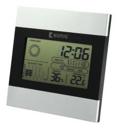 König KN-WS102N LCD-klok en weerstation