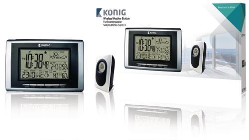 KN-WS400N 433 MHz draadloos station met hygrothermometer