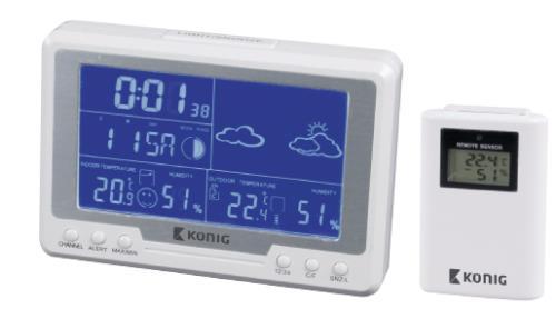 KN-WS500N Draadloos weerstation