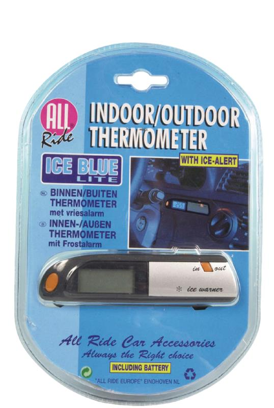 All Ride 02959 Autothermometer voor binnen en buiten