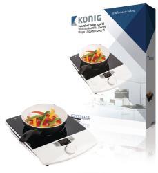 König KN-INDUC-10 Inductiekookplaat, 2000 W